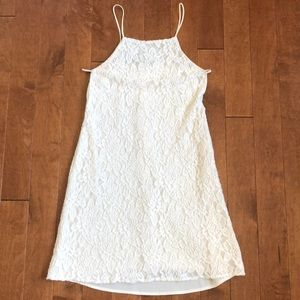 Pins & Needles White Lace Dress